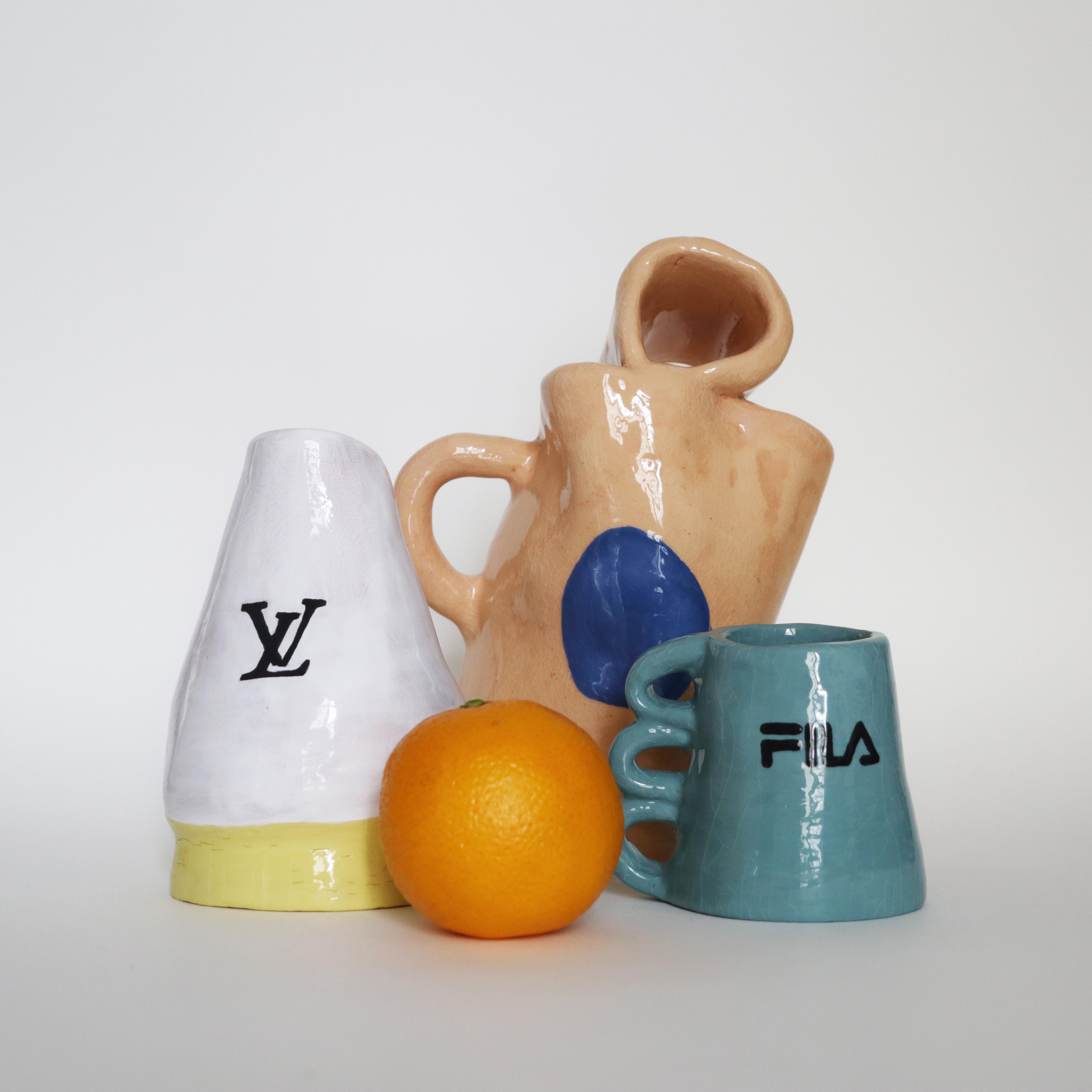 Ceramics and orange